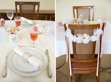 A Simple Pink Spring Table and 3 DIYs belleandchic.com