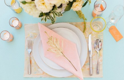 8 Marbled Wedding Details via Elizabeth Anne Designs