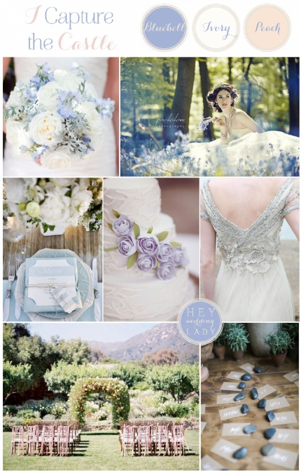 I Capture the Castle Wedding Inspiration via Hey Wedding Lady