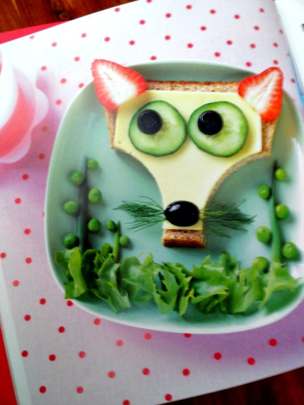 Fun Food for Fussy Little Eaters: Nosy Fox