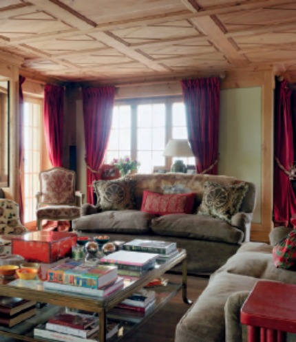 Nina Campbell Interiors A Chalet in the Vernacular