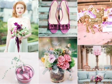 Radiant Orchid Pantone Color of the Year via Burnett's Boards