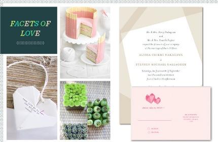 Burgundy, Blush, and Neturals Wedding Inspiration via Revel Blog