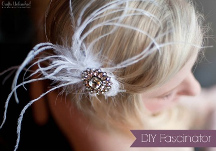 DIY Fascinator via Suburble