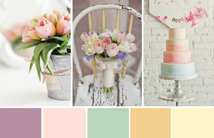 Spring Tulips Wedding Inspiration via One Fab Day