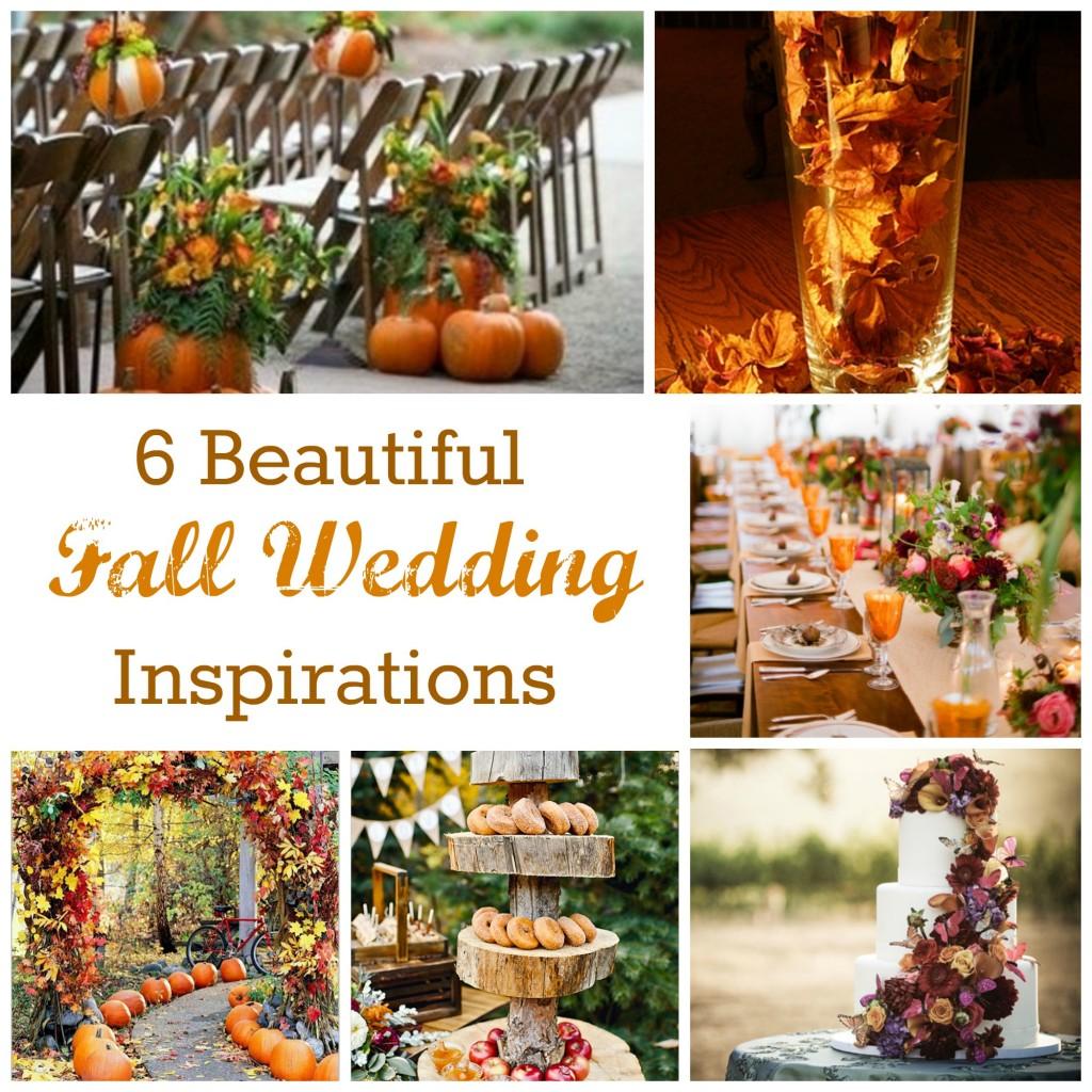 Fall Wedding Giveaways