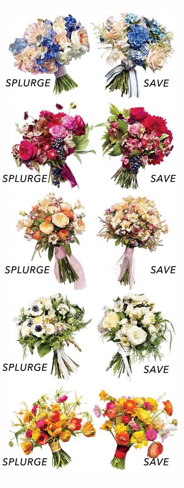 wedding flowers cheap cheap flower alternatives save vs splurge diy weddings 9559