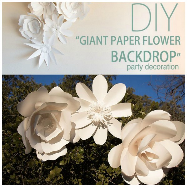 Diy paper flower backdrop diy weddings next idea diy paper flower backdrop mightylinksfo
