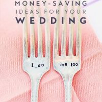 25 Frugal Ways To Save Money On Your Wedding