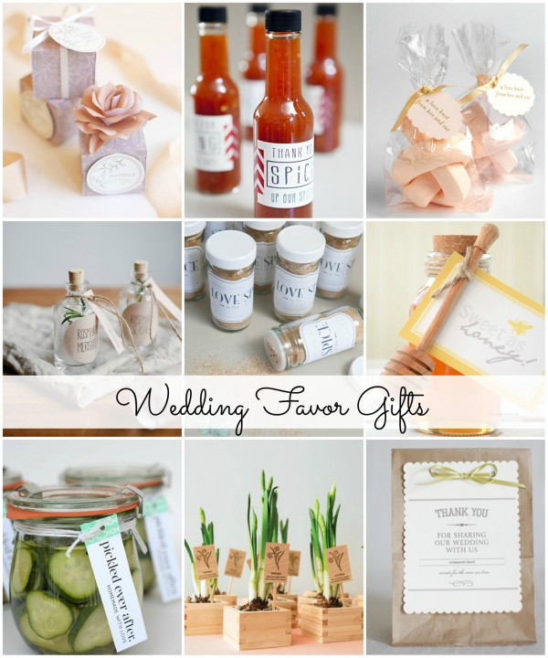Homemade Wedding Gift Ideas: Easy And Classy DIY Wedding Favor Gifts