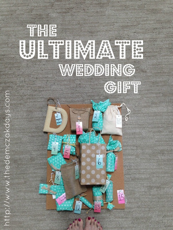 Advent Calendar Ideas Wedding : Ways to make an advent calendar for your wedding day