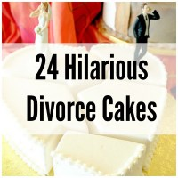 24 Divorce Cakes That Are Sure to Make You Chuckle