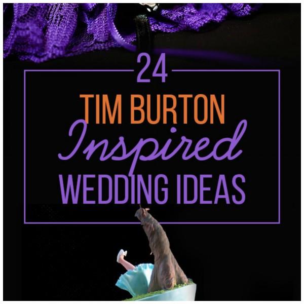 24 Ideas to Have a Tim Burton Inspired Wedding – DIY Weddings