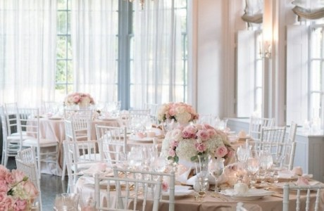 Subtle Pink For Your Girly Wedding