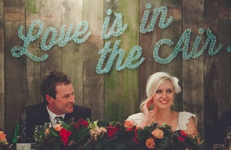 6 Ways To Use String Art At Your Wedding