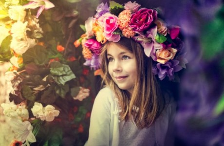 DIY Amazing Floral Crown