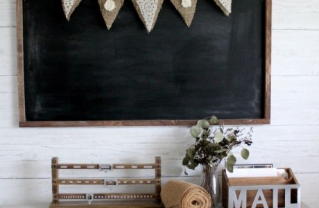 Make Your Own Rustic Burlap Wedding Bunting