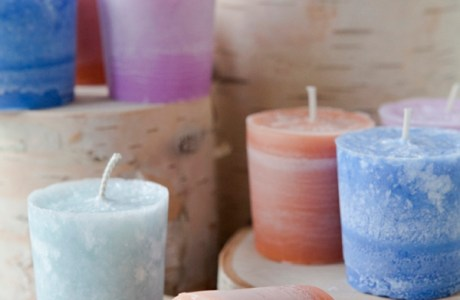 DIY Classic Votive Candle Favours