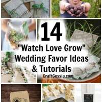 "14 ""Watch Love Grow"" Wedding Favor Ideas"