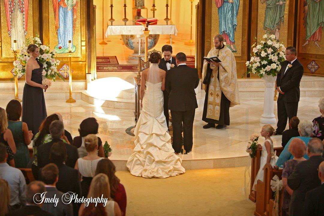 An Elegant Traditonal Wedding-St. Barbara's Church & Ritz