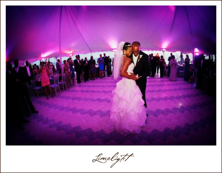 Bride and Groom Dancing at Ca' d'Zan Wedding Sarasota