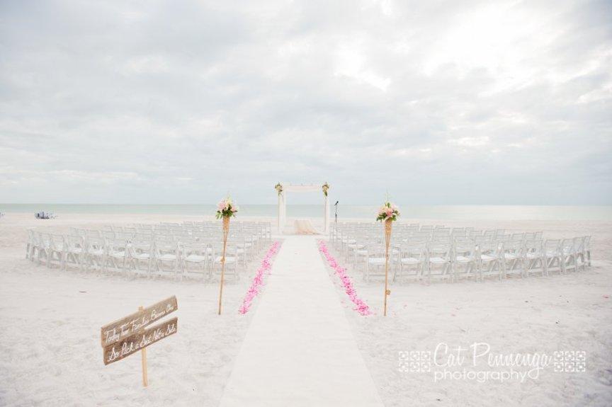 Longboat Key Beach Wedding