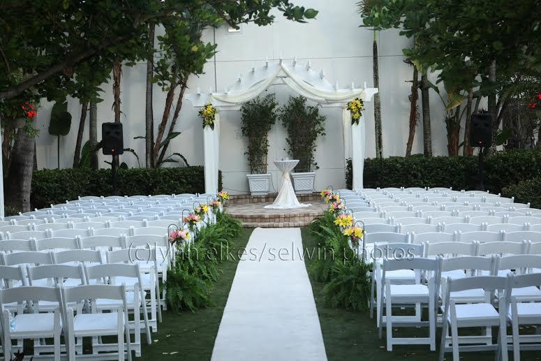 Downtown Sarasota Wedding Flowers