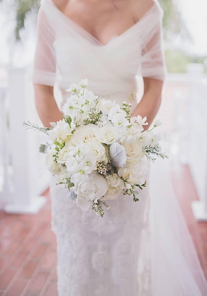 All-White Wedding