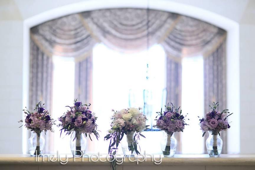 Pretty Purple Wedding at LWR