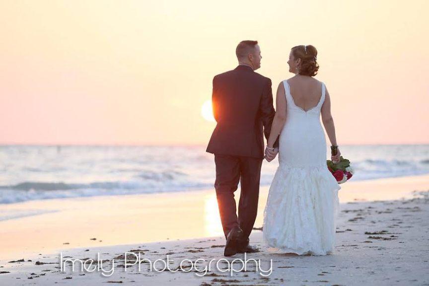 Wedding Reception on Lido Beach