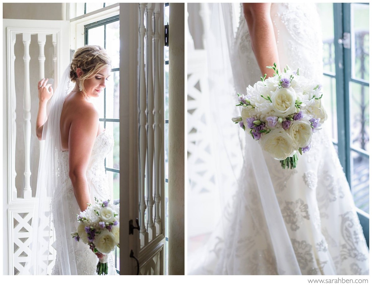 Romantic Lavender Crosley Estate Wedding | Sarasota Wedding Flowers