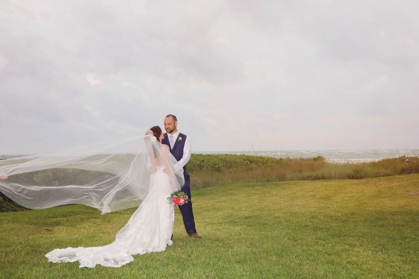 Bride and Groom Longboat Key Club