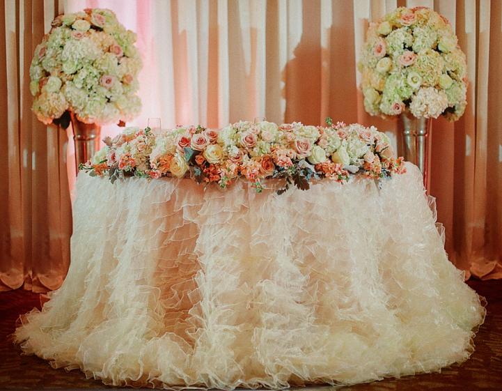 Sweetheart Table Ritz Carlton