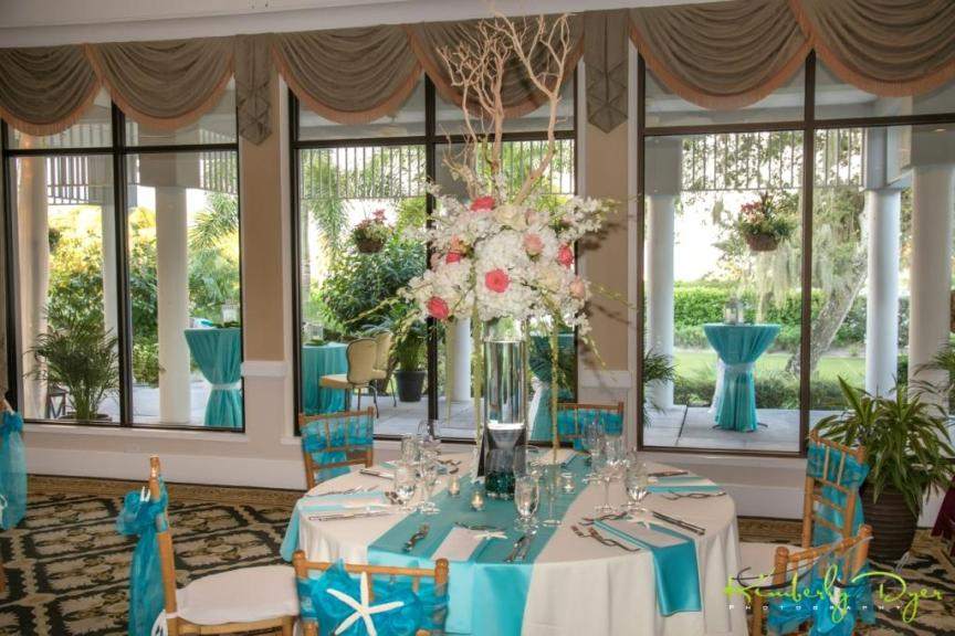 Elevated Guest Table Centerpiece