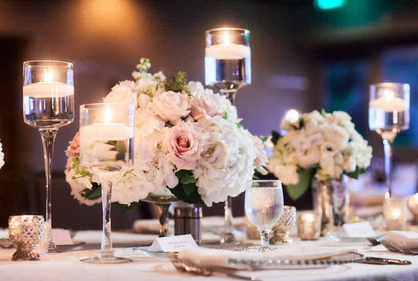 Close Up of Head Table