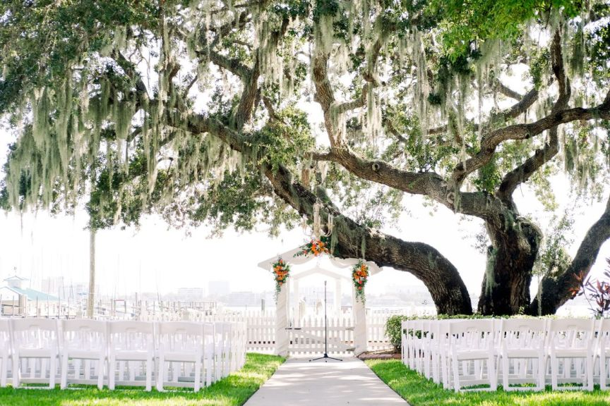 Ceremony Site at Palmetto Bed and Breakfast