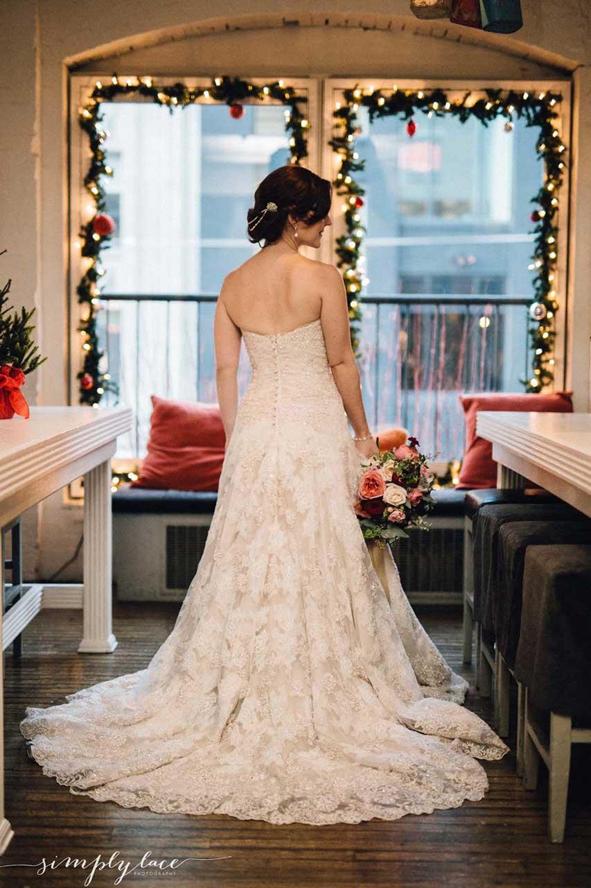 Larissa And Leo S Winter Wedding The Fifth Weddings