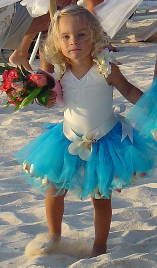 Wedding Tutus Perfect for Beach or Island Weddings WeddingsAbroad.com Destination Weddings Worldwide