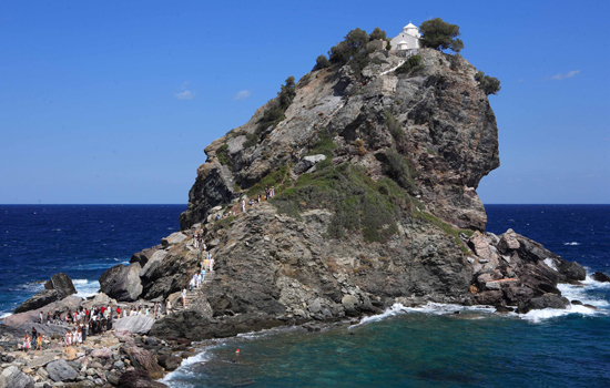Mamma Mia Chapel Aghios Ioannis Chapel Skopelos WeddingsAbroad.com Mamma Mia Church