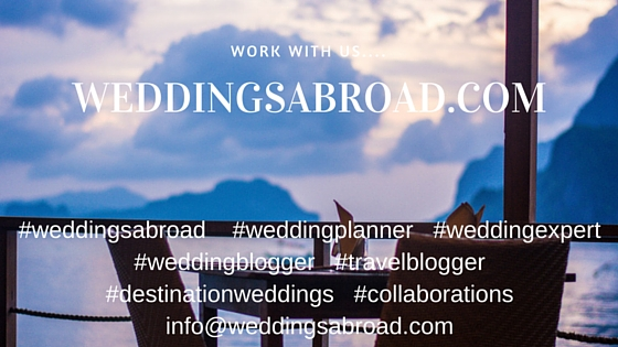 Work with weddingsabroad.com