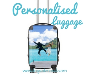 Personalised Luggage WeddingsAbroad.com Weddings Abroad Shop
