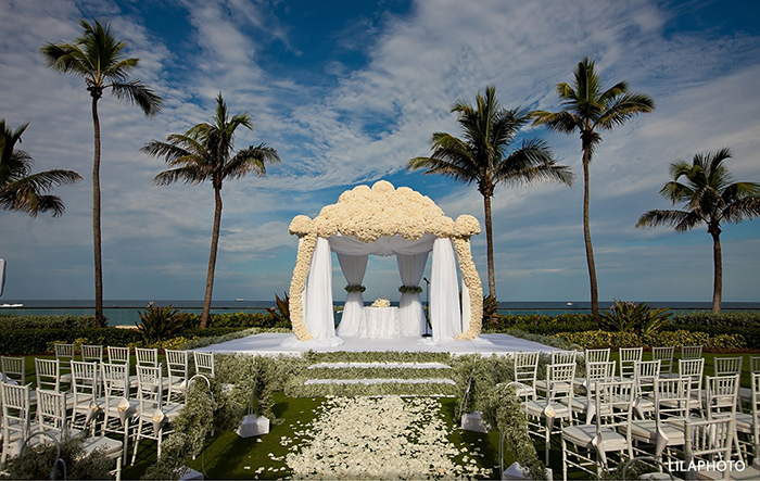 Chuppah Decor Inspiration at The Breakers Palm Beach
