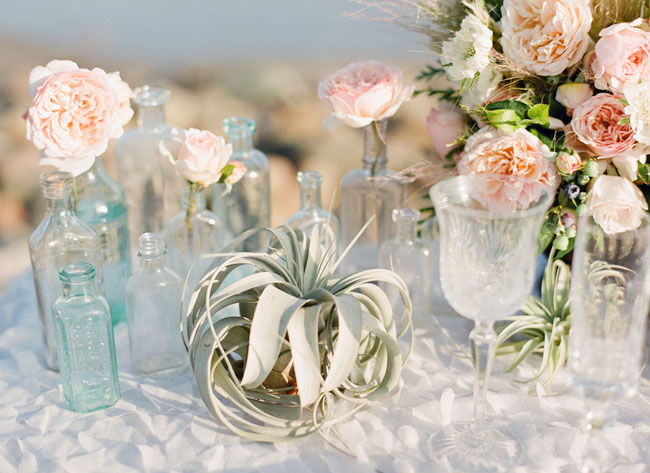 Wedding Color Palette Idea: Mint Green And Peach Wedding