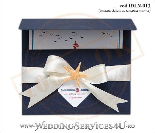 Invitatie_Deluxe_Nunta_IDLN-013-01-Tematica.Marina.cu.stea.de.mare.si.fundita