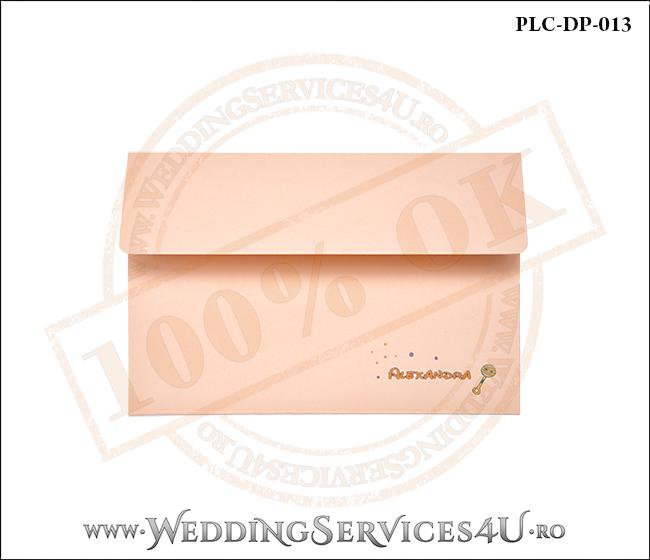 Plic Invitatie Nunta-Botez PLC-DP-013-1 Peach