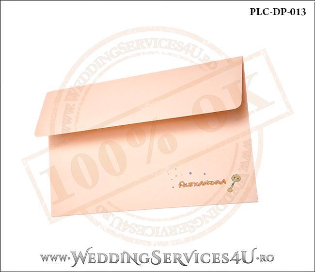 Plic Invitatie Nunta-Botez PLC-DP-013-21 Peach