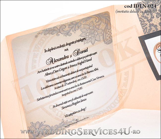 Invitatie_Deluxe_Nunta_Botez_IDLN-024-06_model_retro_cu_dantela