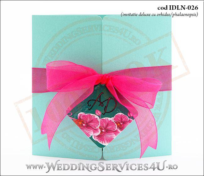 Invitatie_Deluxe_Nunta_Botez_IDLN-026-01_cu_tematica_exotica_cu_orhidee