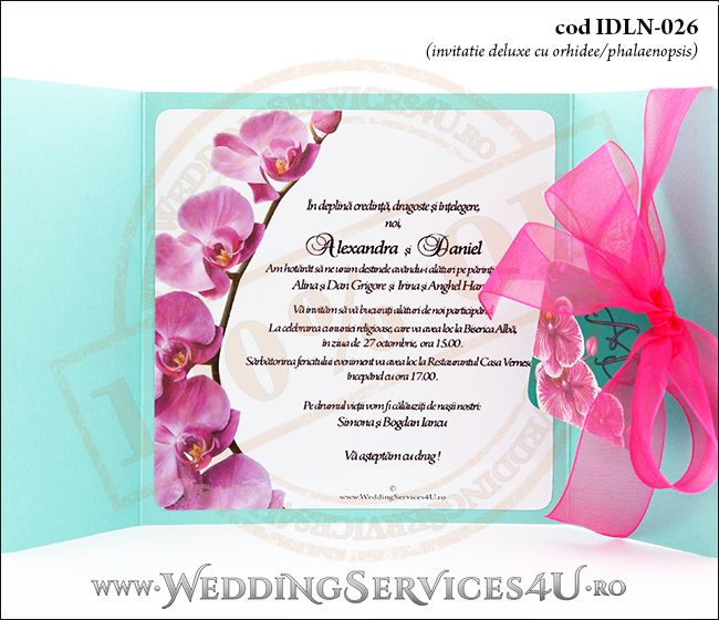 Invitatie_Deluxe_Nunta_Botez_IDLN-026-06_exotica_cu_flori_de_phalaenopsis_ciclam