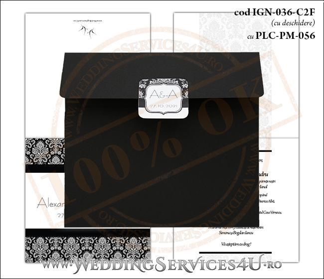 Invitatie_Nunta_IGN-036-C2F cu PLC-PM-056